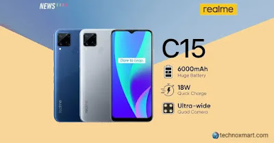 Realme C15 Is Teases To Offer MediaTek Helio G35 SoC, 13-Megapixel Primary Camera Before Launch For July 28