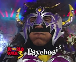 WCW WORLD WAR 3 1996 - Psicosis challenged Dean Malenko for the WCW Cruiserweight Title