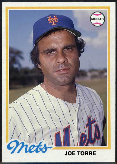 When Topps Had Baseballs A Proper Career Capper For Joe Torre