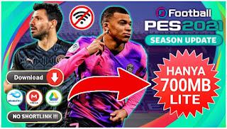 Download PES 2021 PPSSPP Lite Versi Chelito Real Face Offline Best Grafik HD & Grass Garis Lurus Ful HD