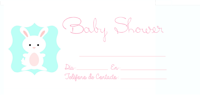 Tarjetas de invitaciones baby shower