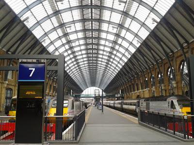 Kings Cross Railway Station London UK Travel Blog