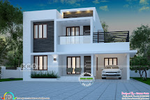 1871 Square Feet 4 Bedroom Modern House Kerala Home