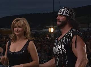WCW Road Wild 1997 Review - Macho Man Randy Savage (w/ Elizabeth) faced The Giant