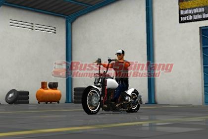 Mod Bussid Motor Harley davidson