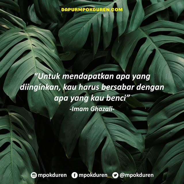 Nasihat Imam Ghazali