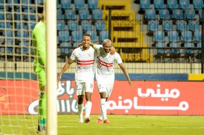 اهداف مباراة الزمالك وغزل المحلة (3-0) الدوري المصري