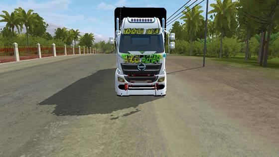 mod bussid truck hino 500 c2 full anim 1
