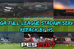 Mega Full League Stadium Server Repack - PES 2017