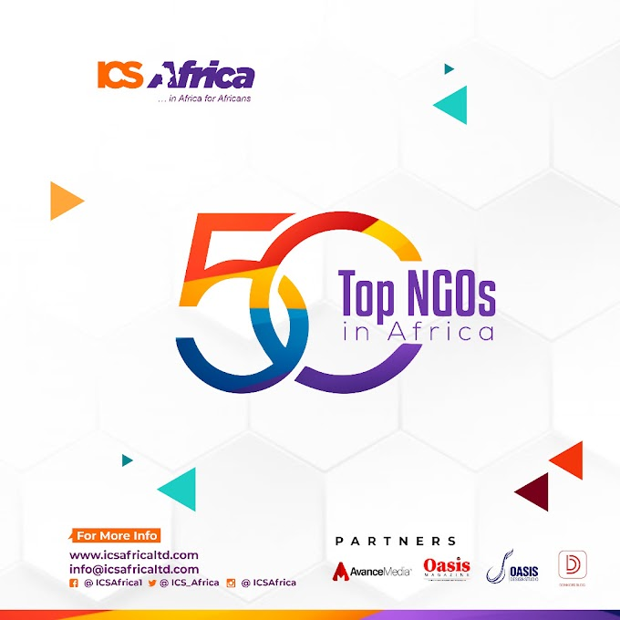 Impact Concept and Solutions Africa (ICS Africa) to unveil TOP 50 NGOs in Africa