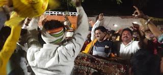 भगोरिया पर्व के अंतिम दिन बडे ही हर्षोल्लास व उमंग के साथ मनाया गया