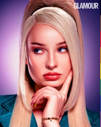 Kim Petras Clicked for Glamour - UK Digital Issue June 2021