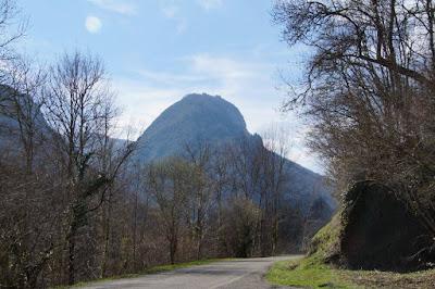 montaña pog castillo de Montsegur