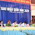 96 thanh niên Phú Tân lên đường nhập ngũ