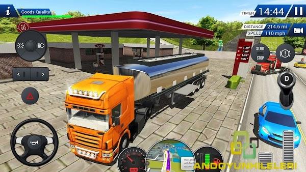 Euro Truck Driving Simulator 2018 Hileli APK v2.4