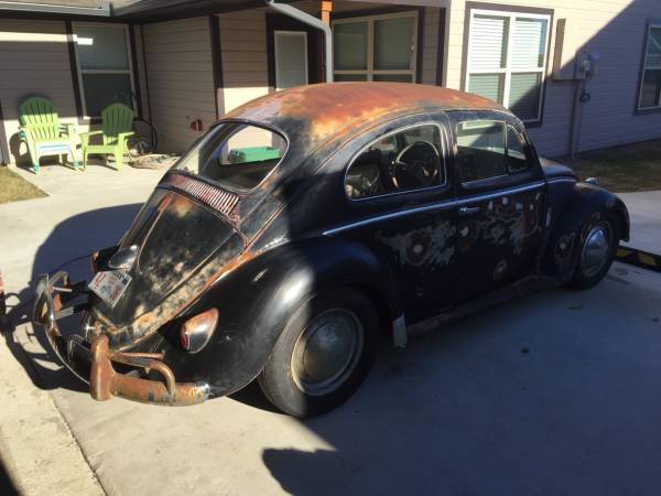 Used 1958 VW Beetle Patina Ratrod by Owner