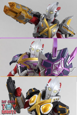 S.H. Figuarts Ultraman X MonsArmor Set 01
