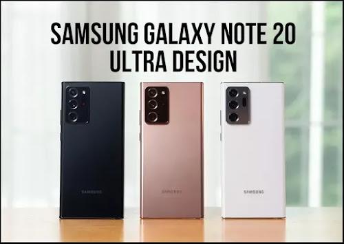 Samsung Galaxy Note 20 Ultra - Design