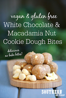 Healthy White Chocolate Macadamia Cookie Bliss Balls Recipe