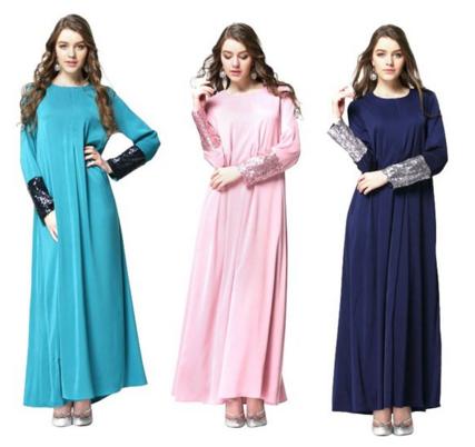 vestido largo varios colores
