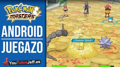 Descargar Pokemon Masters Android, El Ultimo Juego de Pokemon