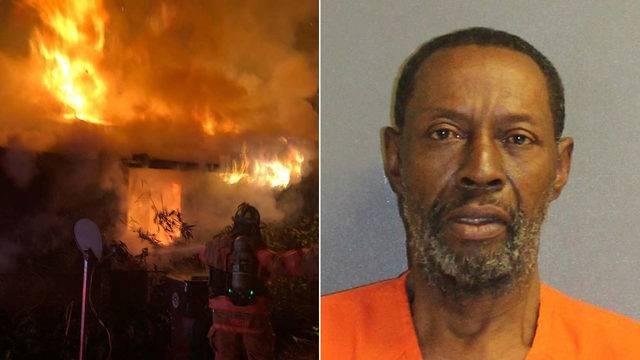 Έκαψε το σπίτι του ουρλιάζοντας για βρικόλακες!
