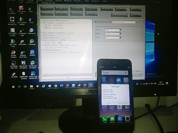 Cara Remove ByPass Pola PIN Oppo A71 CPH1801