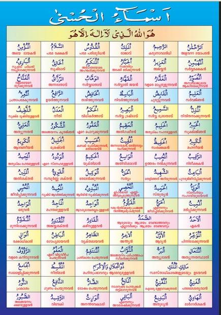 iAsmauli iHusnai untuk Anak Sekolah Arab Latin idani iArtinyai