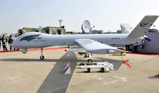 UAV Wing Long buatan China