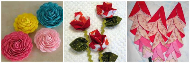 BabcoUnlimited.blogspot.com - Flower Quilt Ideas