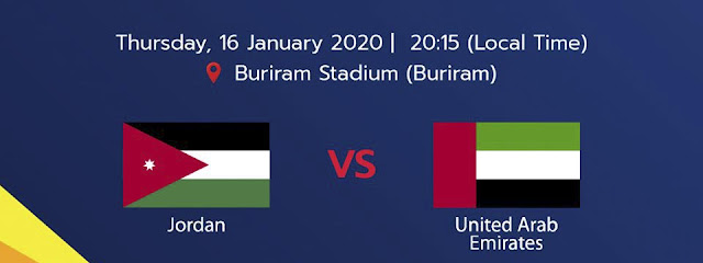 Live Streaming Jordan Vs UAE AFC U23