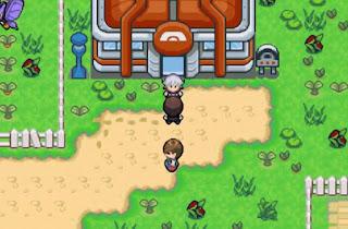 Pokemon Verde Musgo en Español para GBA Gimnasio Pokemon