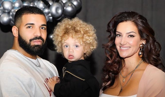 Drake Units With Son Adonis Baby Mama Sophie Brussaux On New Photos