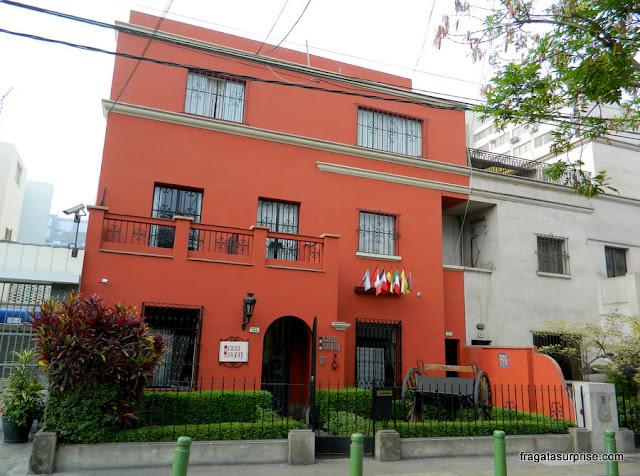 Fachada do Hotel Casa Suyay, Miraflores, Lima