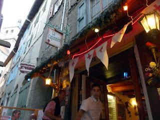 ブリアンソンのレストラン : ラ・カポニエール