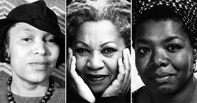 Maya Angelou, Toni Morrison, and Zora Neale Hurston