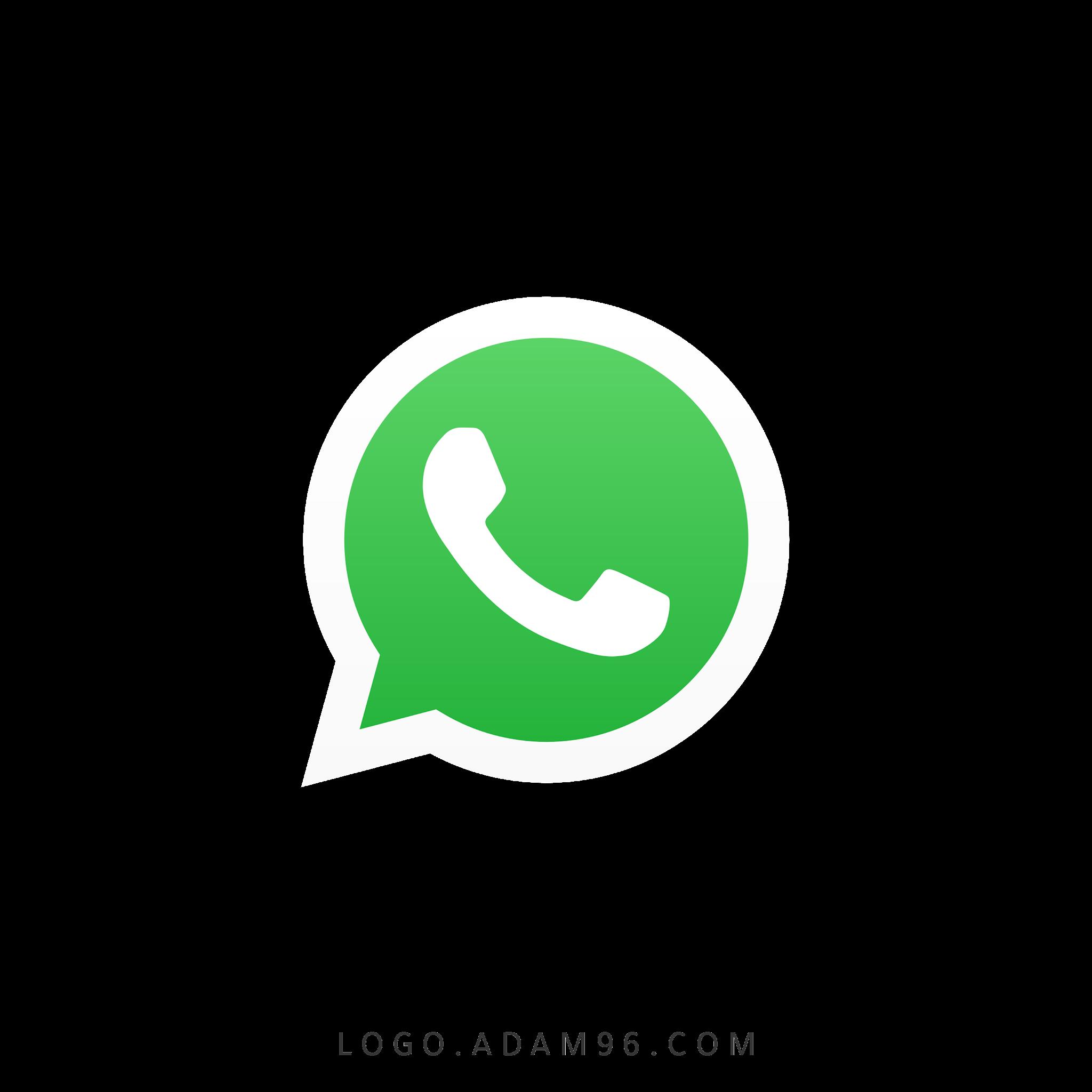 تحميل شعار واتساب الاصلي شفاف Logo WhatsApp PNG