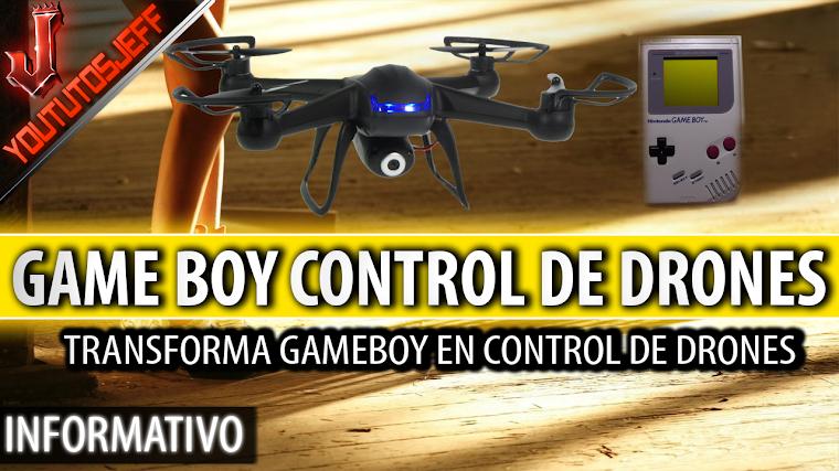 Transforma su Game Boy en un control de drones