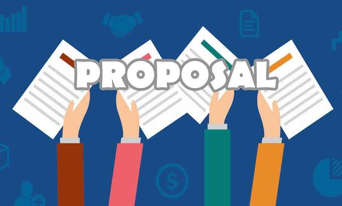 Pengertian Proposal , Fungsi, Tujuan, Jenis-Jenis Proposal