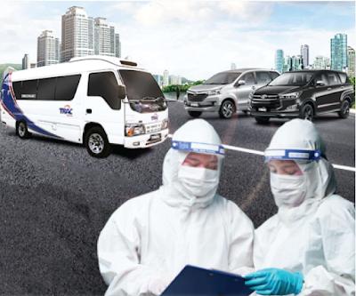 trac bus sebagai transportasi tenaga medis di masa pandemic