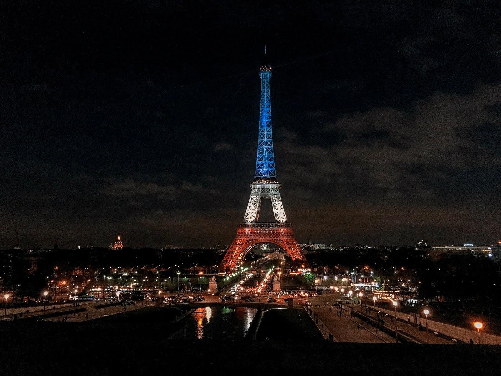 My Travel Background : au revoir Paris - Tour Eiffel