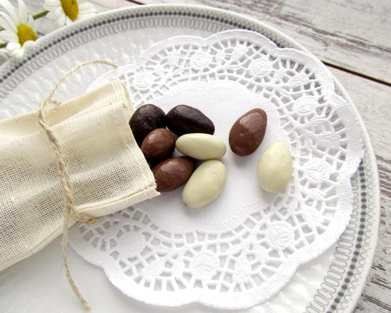 almond, миндаль в шоколаде