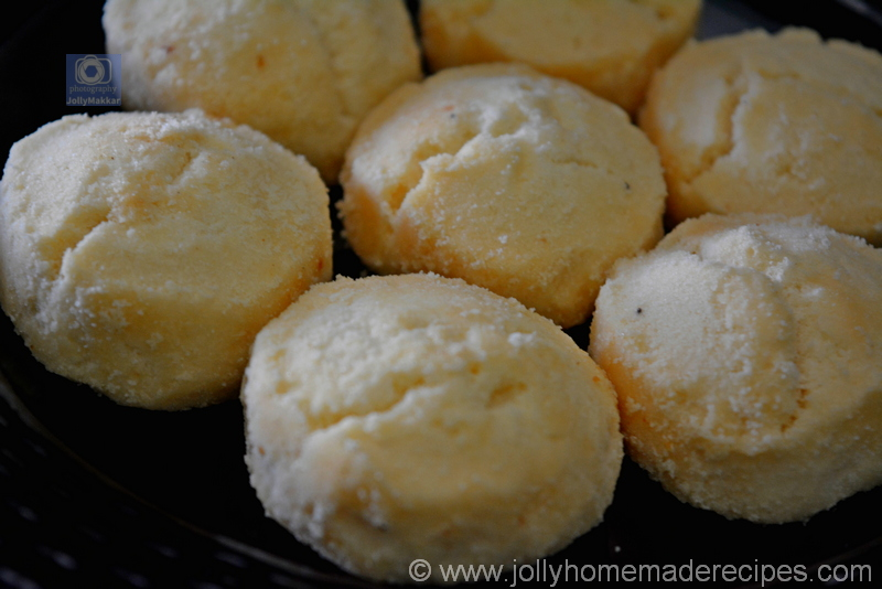 Eggless Indian Shortbread Cookies