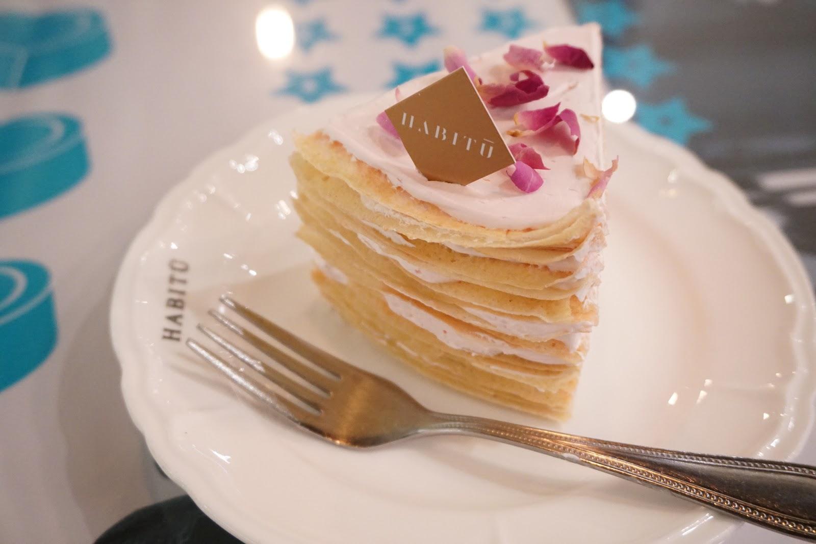 【飲食】Lady M vs Habitu.粉紅浪漫玫瑰千層蛋糕   .文迪.漫遊.慢生活. – U Blog 博客