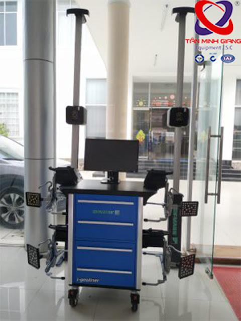 Máy cân chỉnh góc lái 3D Hofmann Geoliner 790 tại showroom cty