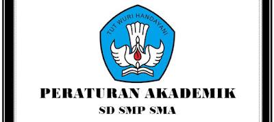 Contoh Peraturan Akademik SD, SMP, SMA Terbaru