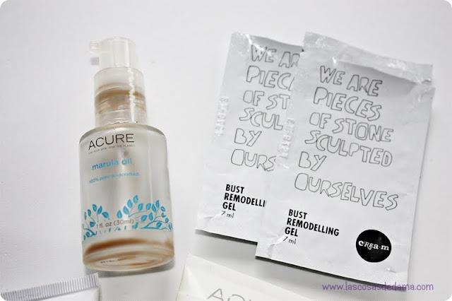 Productos terminados cosmética belleza beauty eucerin acure organics