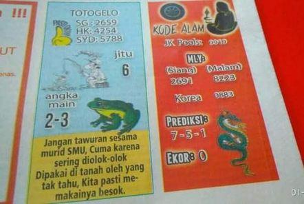 Syair HK Totogelo