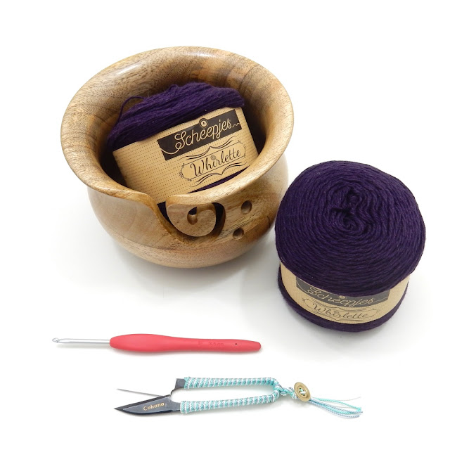 free crochet pattern, scheepjes, whirlette yarn, whirl
