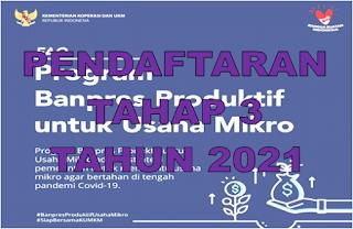 Cara Mendaftar Blt Umkm Online Terbaru 2021 Go Bizz
